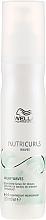 Fragrances, Perfumes, Cosmetics Nourishing Leave-In Milk Spray for Wav Hair - Wella Professionals Nutricurls Milky Waves Leave In Spray