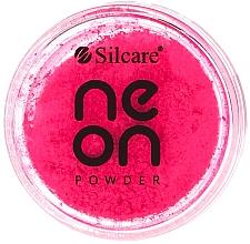 Fragrances, Perfumes, Cosmetics Nail Powder - Silcare Neon Powder