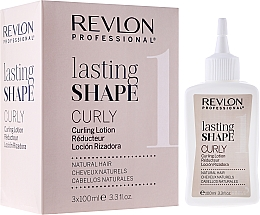 Fragrances, Perfumes, Cosmetics Curling Set for Natural Hair - Revlon Professional Lasting Shape Curly Lotion Natural Hair (lot/3x100ml)