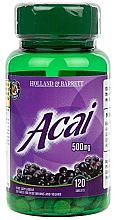 "Fragrances, Perfumes, Cosmetics Food Supplement ""Acai Berry"" - Holland & Barrett Acai Berry 500mg"