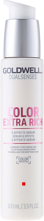 Intensive Shine Colored Hair Serum - Goldwell Dualsenses Color Extra Rich 6 Effects Serum