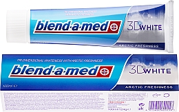 """Fragrances, Perfumes, Cosmetics Toothpaste """"Arctic Freshness"""" - Blend-a-med 3D White Arctic Freshness"""