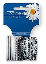 Fragrances, Perfumes, Cosmetics Elastic Hair Bands with Pattern, white mix - Top Choice