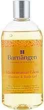 Fragrances, Perfumes, Cosmetics Shower Gel with Flower Oils - Barnangen Nordic Rituals Midsommar Glow Shower&Bath Gel
