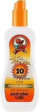 Fragrances, Perfumes, Cosmetics Sun Spray Gel - Australian Gold SPF 10 Spray Gel