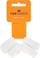 Fragrances, Perfumes, Cosmetics Elastic Hair Bands, white, 4 pcs - Top Choice