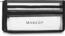 "Fragrances, Perfumes, Cosmetics Silicone Makeup Bag ""Allvisible"" 25x13x5 cm - MakeUp"