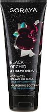 Fragrances, Perfumes, Cosmetics Nourishing Body Balm - Soraya Black Orchid & Diamonds Nourishing Body Balm
