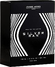 Fragrances, Perfumes, Cosmetics Jeanne Arthes Silver Man - Eau de Toilette