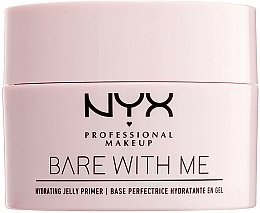 Fragrances, Perfumes, Cosmetics Hydrating Jelly Primer - NYX Professional Makeup Bare With Me Hydrating Jelly Primer