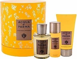 Fragrances, Perfumes, Cosmetics Acqua Di Parma Colonia Intensa - Set (edc/100ml + sh/gel/75ml + deo/50ml)