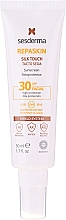Fragrances, Perfumes, Cosmetics Sun Protective Face Cream - SesDerma Laboratories Repaskin Silk Touch SPF30