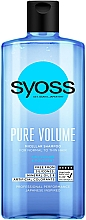 Fragrances, Perfumes, Cosmetics Micellar Shampoo for Normal & Thin Hair - Syoss Pure Volume Micellar Shampoo