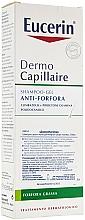 Fragrances, Perfumes, Cosmetics Anti-Dandruff Shampoo for Oily Hair - Eucerin DermoCapillaire Anti-Dandruff Gel Shampoo