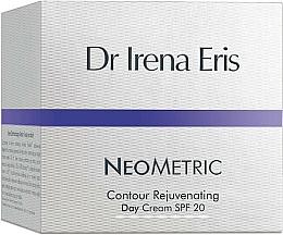 Fragrances, Perfumes, Cosmetics Day Cream for Face - Dr Irena Eris Neometric Contour Rejuvenating Day Cream SPF 20