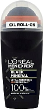 Fragrances, Perfumes, Cosmetics Roll-On Deodorant - L'Oreal Paris Men Expert Black Mineral Deo Roll-On