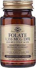 "Fragrances, Perfumes, Cosmetics Dietary Supplement ""Folic Acid"" (800 mcg folic acid) - Solgar Folate 1,333 MCG DFE"