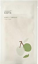 Fragrances, Perfumes, Cosmetics Brightening Face Mask - Sioris Make It Bright Sheet Mask