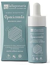 Fragrances, Perfumes, Cosmetics Mattifying Bioactive Serum - La Saponaria Matte Effect Serum