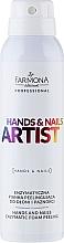 Fragrances, Perfumes, Cosmetics Enzyme Hand Foam - Farmona Hands and Nails Artist Enzymatic Foam Peeling