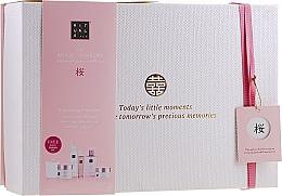 Fragrances, Perfumes, Cosmetics Set - Rituals The Ritual of Sakura Ceremony XL (b/scrub/250ml + s/gel/200ml + b/cr/200ml + soap/300ml + b/mist/50ml + candle/290g)