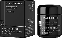 Fragrances, Perfumes, Cosmetics Cream for Mature Skin - D'Alchemy Age Defense Broad Spectrum Remedy