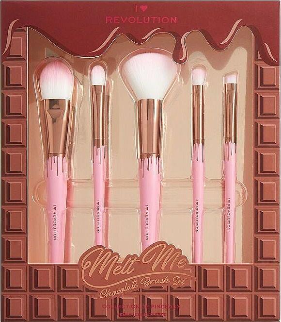 Makeup Brush Set - I Heart Revolution Chocolate Brush Set
