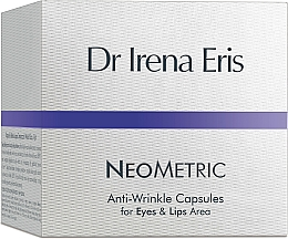 Fragrances, Perfumes, Cosmetics Anti-Wrinkle Capsules for Eye and Lips Area - Dr Irena Eris Anti-Wrinkle Capsules for Eyes and Lips Area