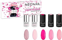 Fragrances, Perfumes, Cosmetics Set - NeoNail Professional Cherry Blossom Collection Set (nail/polish/3mlx3 + base/3mlx2)