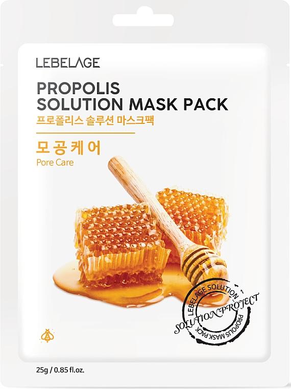 Facial Propolis Sheet Mask - Lebelage Propolis Solution Mask