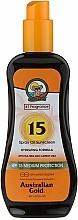 Fragrances, Perfumes, Cosmetics Sunscreen Spray - Australian Gold Tea Tree&Carrot Oils Spray SPF15