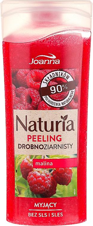 """Fine-Grained Shower Peeling """"Raspberry"""" - Joanna Naturia Peeling"""