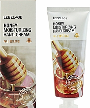Fragrances, Perfumes, Cosmetics Honey Hand Cream - Lebelage Honey Moisturizing Hand Cream