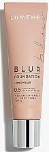 Fragrances, Perfumes, Cosmetics Transforming Foundation - Lumene Longwear Blur Foundation SPF 15