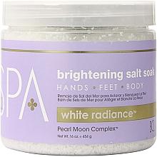 Fragrances, Perfumes, Cosmetics Sea Salt - BCL Spa White Radiance Brightening Salt Soak