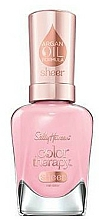Fragrances, Perfumes, Cosmetics Argan Oil Nail Polish - Sally Hansen Color Therapy Sheer Nail Color