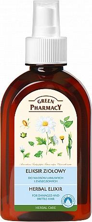 Herbal Hair Elixir - Green Pharmacy