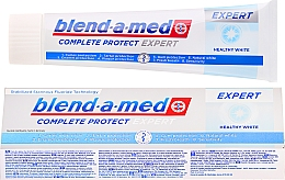 Fragrances, Perfumes, Cosmetics Toothpaste - Blend-a-med Complete Protect Expert Healthy White Toothpaste