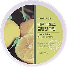 Fragrances, Perfumes, Cosmetics Cleansing Lemon Extract Cream - Lebelage Lemon Detox Cleansing Cream