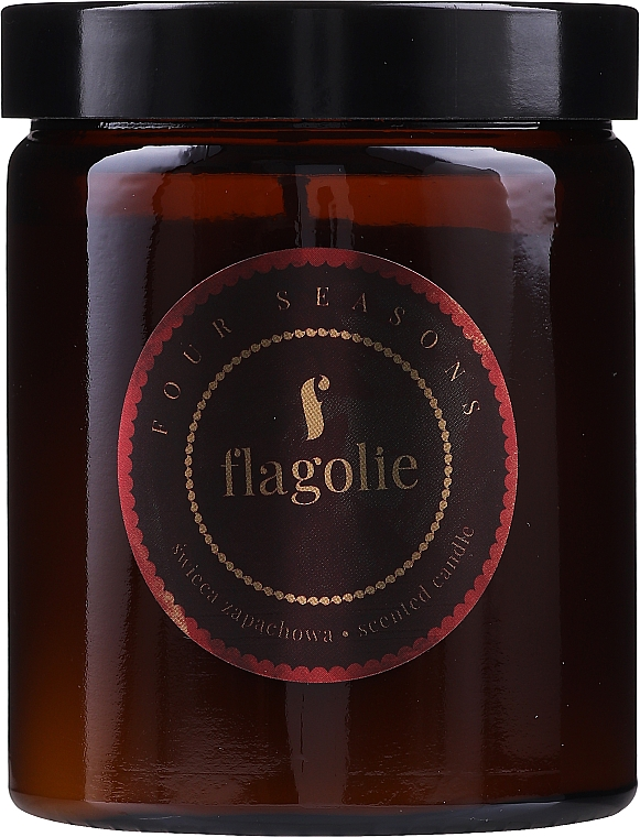 Gingerbread Scented Candle - Flagolie Fragranced Candle Gingerbread — photo N1