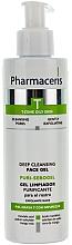 Fragrances, Perfumes, Cosmetics Antibacterial Facial Gel - Pharmaceris T Puri-Sebopeel Gel