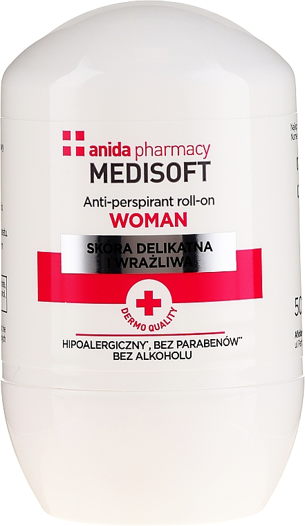 Antiperspirant - Anida Pharmacy Medisoft Woman Deo Roll-On