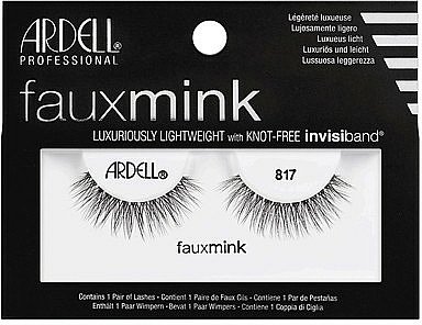 Flase Lashes - Ardell Faux Mink Luxuriously Lightweight 817