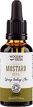 Fragrances, Perfumes, Cosmetics Mustard Oil - Wooden Spoon Mustard Oil