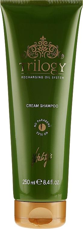 Nourishing Hair Shampoo - Vitality's Trilogy Cream Shampoo
