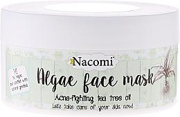 """Fragrances, Perfumes, Cosmetics Alginate Face Mask """"Green Tea"""" - Nacomi Professional Face Mask"""