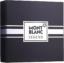 Fragrances, Perfumes, Cosmetics Montblanc Legend - Set (edt/100ml+ash/balm/100ml+edt/mini/7.5ml)