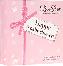 Fragrances, Perfumes, Cosmetics Set - Love Boo Happy Baby Shower (sh/gel/250ml + sh/gel/50ml)