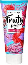 "Fragrances, Perfumes, Cosmetics Hand Cream ""Lychee"" - Farmapol Fruity Jungle Hand Cream"