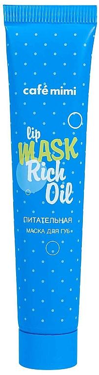 Nourishing Lip Mask - Cafe Mimi Lip Mask Rich Oil